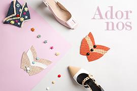 montaje adornos para calzado y moda